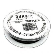 Durathread 50 Metres Black
